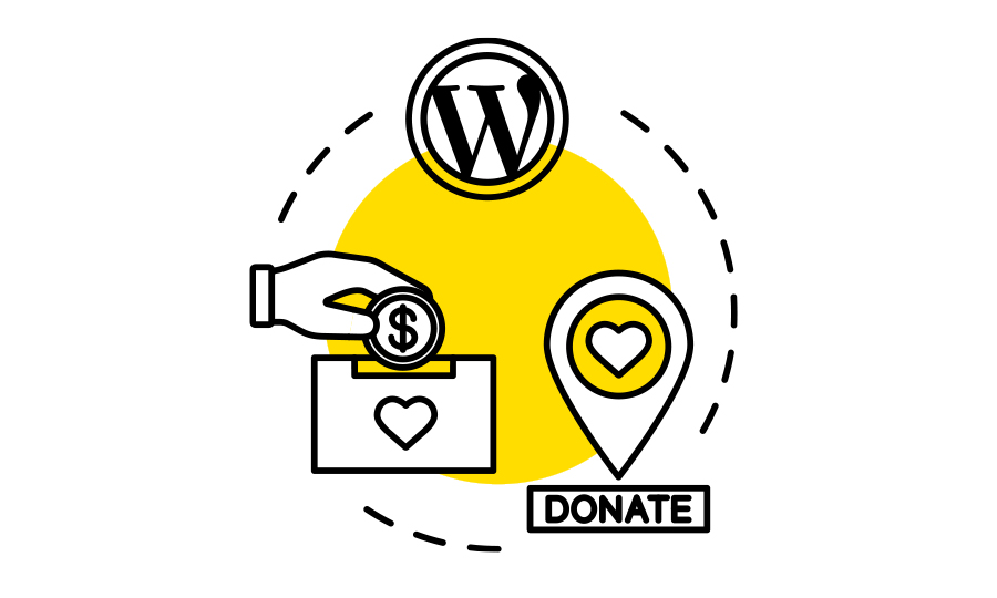 Optimize wordpress site for donations
