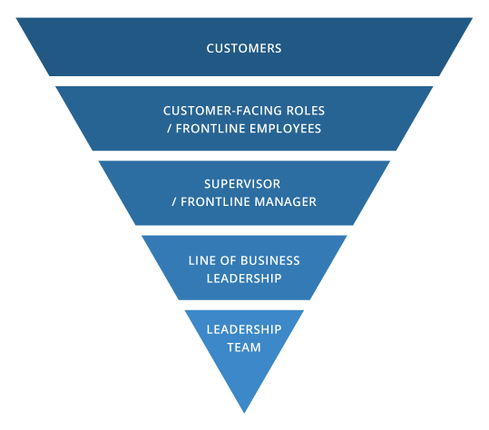 inverted org pyramid