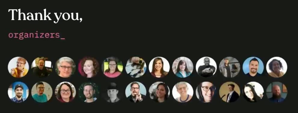 WordCamp US Organizer Pics