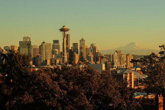 A view of Seattle from Kerry Park