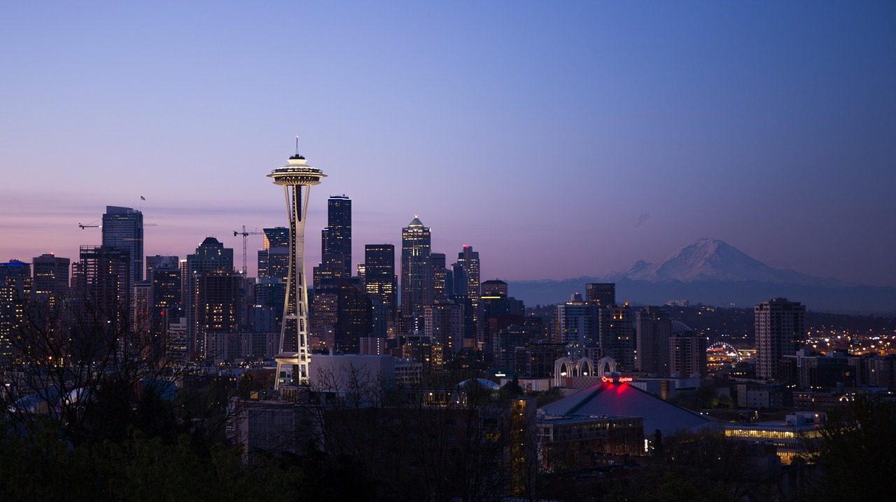 A picture of the Seattle Skyline