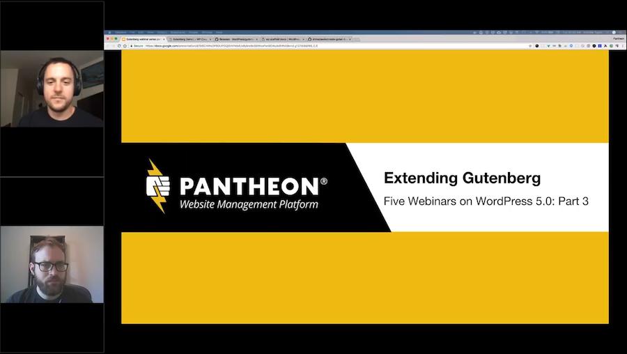 Extending Gutenberg