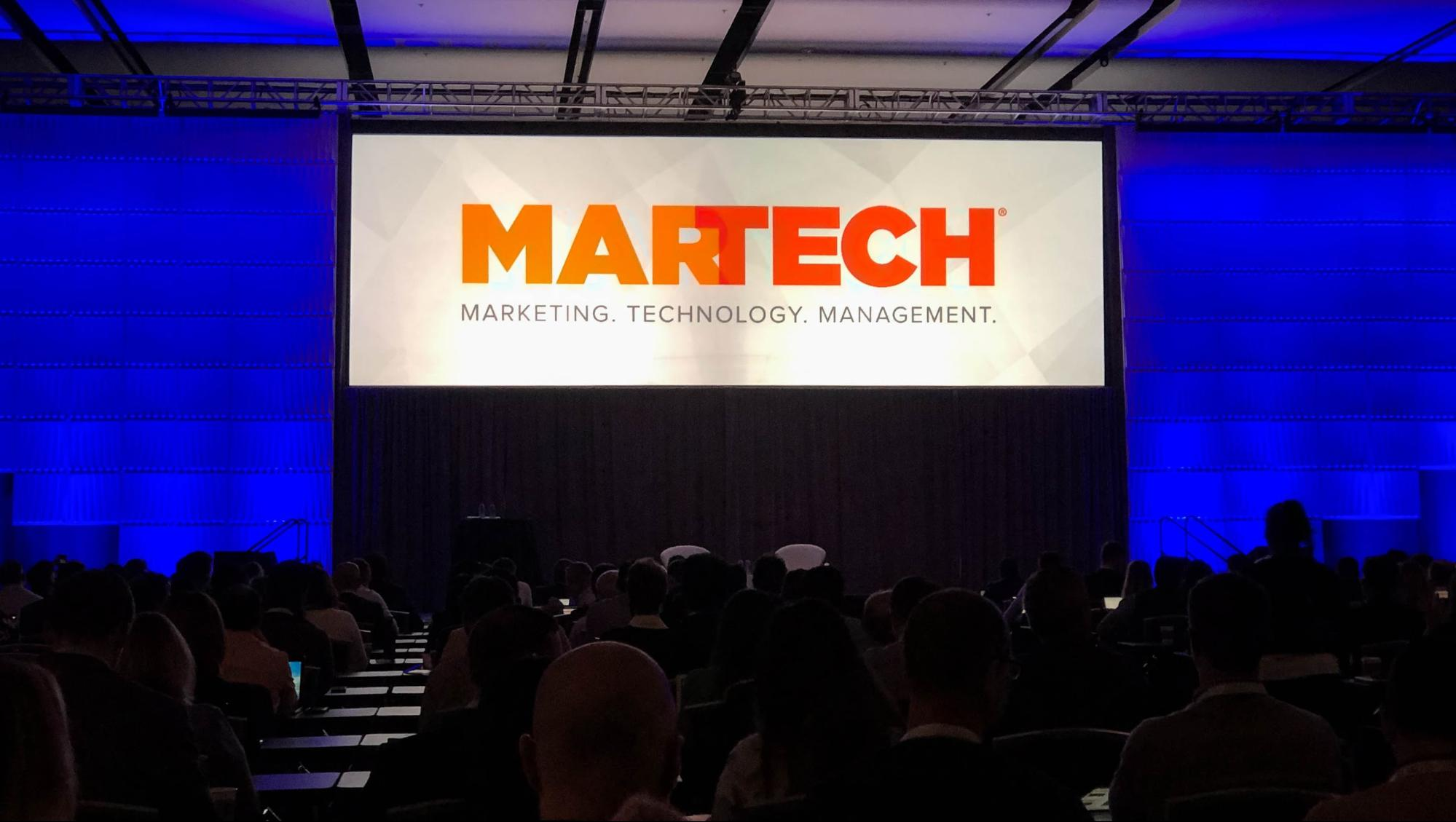 MarTech West 2019 keynote presentation
