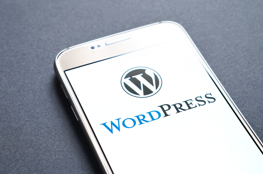 WordPress stock photo
