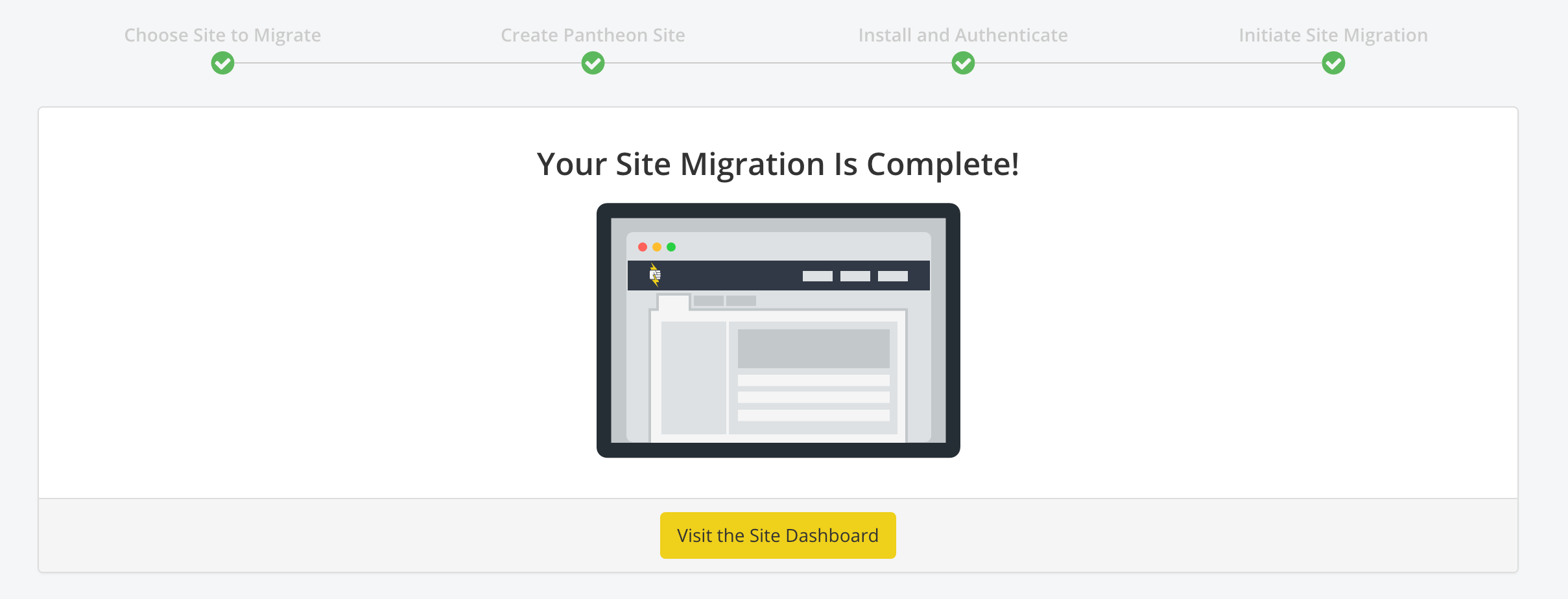 Site Migration Blogvault Pantheon