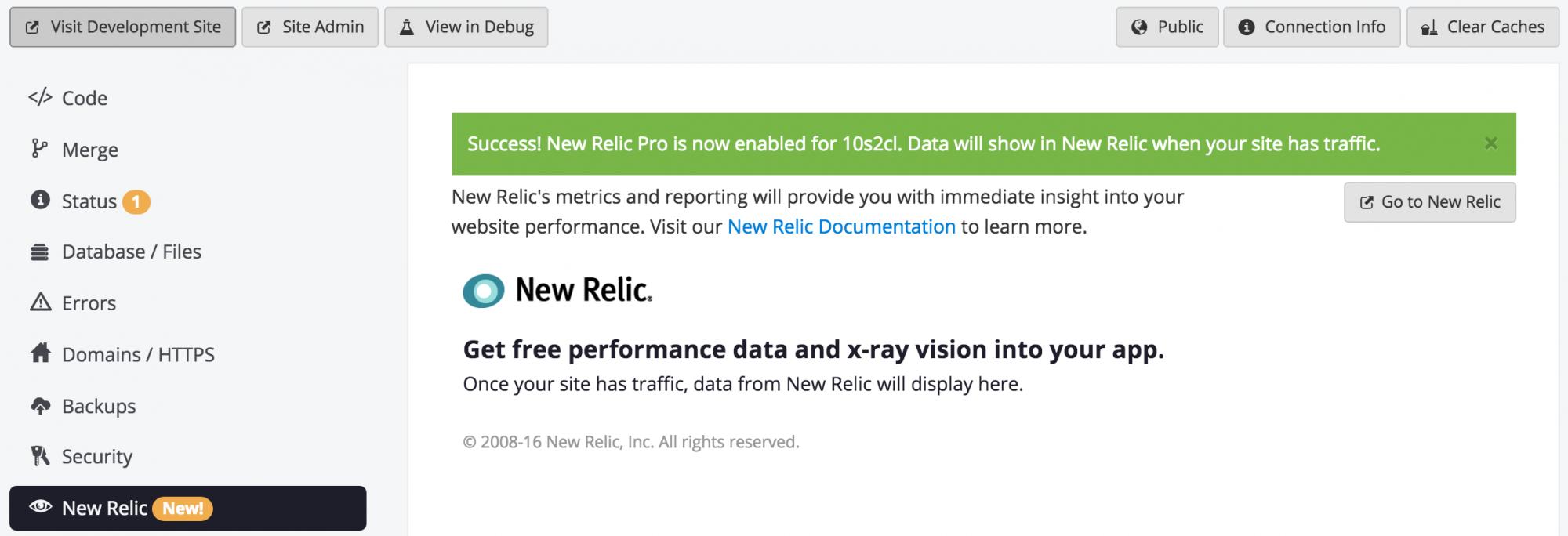 new relic inc