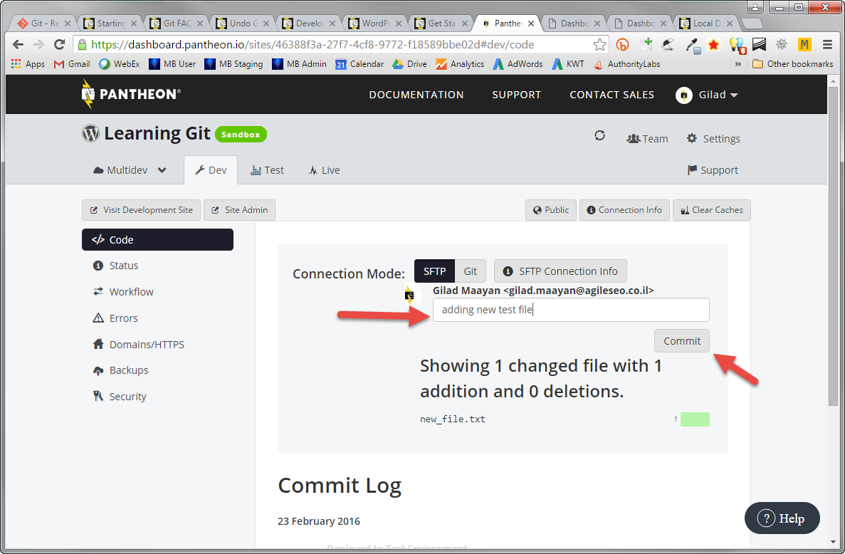 how to write good git commit messages