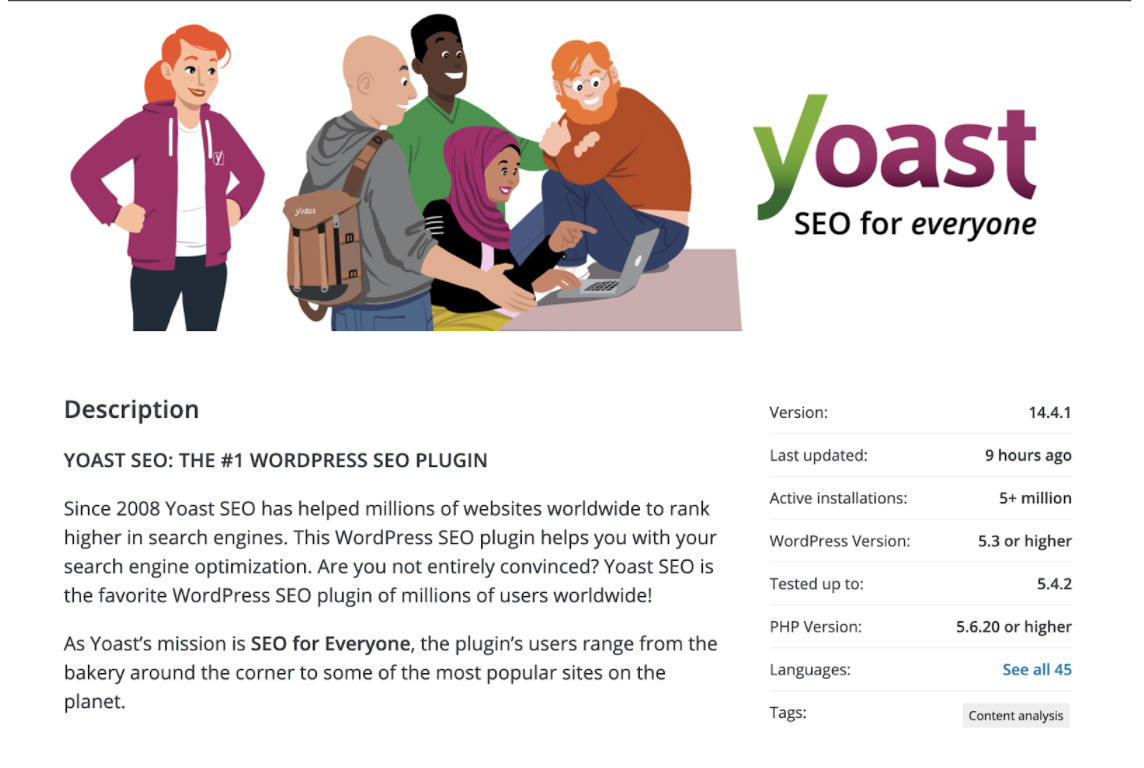 WordPress yoast