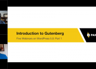 Introduction to Gutenberg Part 1