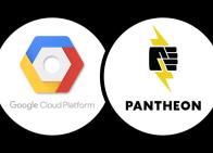 GCP + Pantheon logos