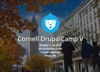 Cornell DrupalCamp Screenshot
