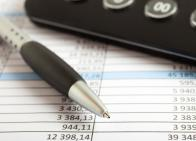 calculator and expense reports
